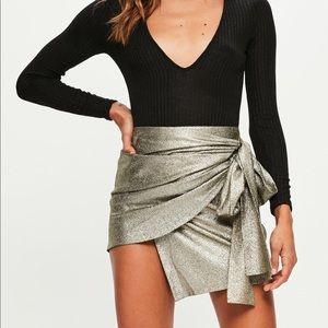 NWOT wrap skirt